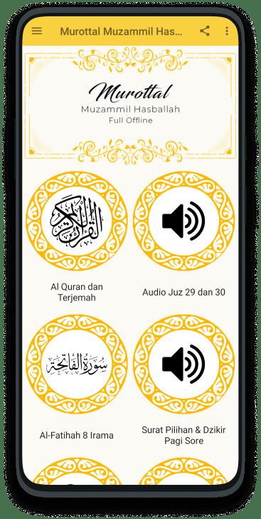 Murottal Muzammil Hasballah MP3 Offline