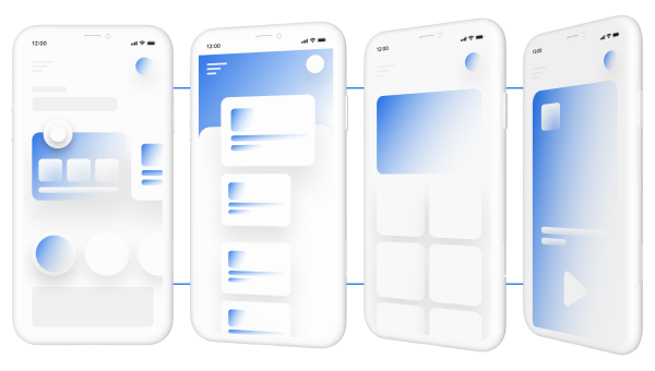 Pre-made features in an app