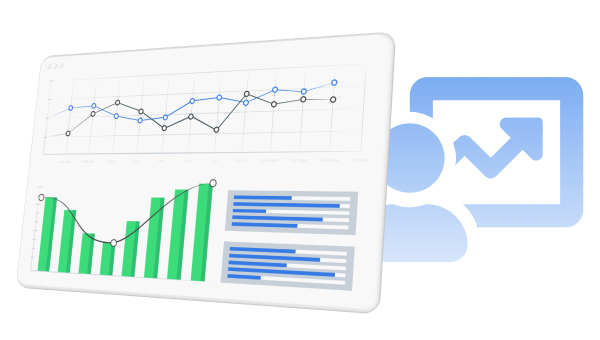 Provides app analytics